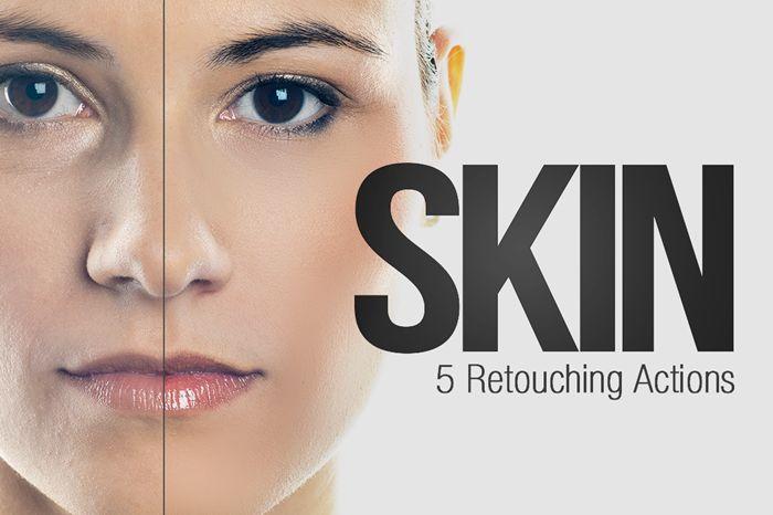 Retoque da pele do Sparklestock