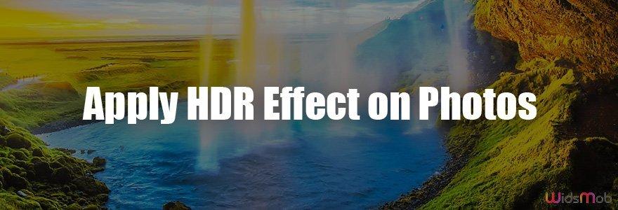 Aplicar efeito HDR em fotos