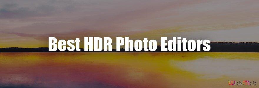 Melhores editores de fotos HDR
