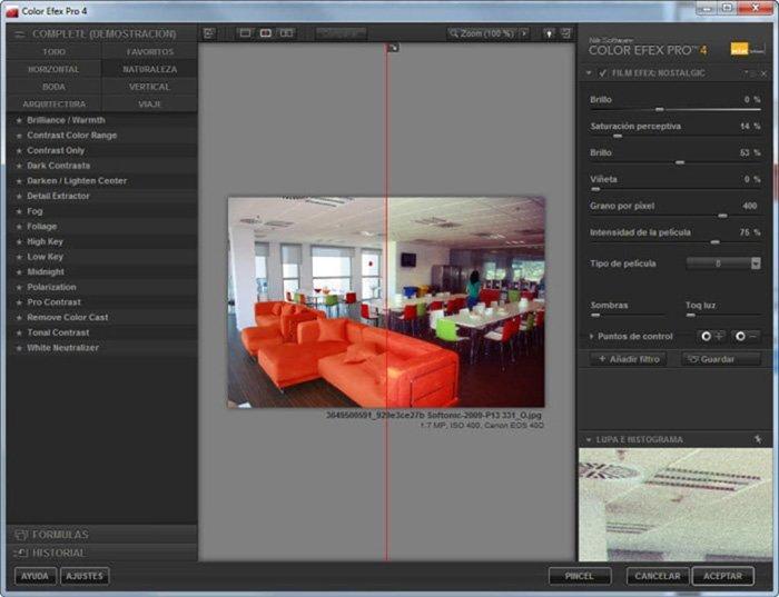 專業的Lightroom插件-Color EFex Pro
