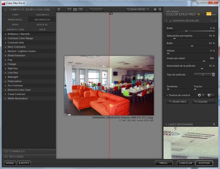 Plug-ins profissionais do Lightroom - Color EFex Pro