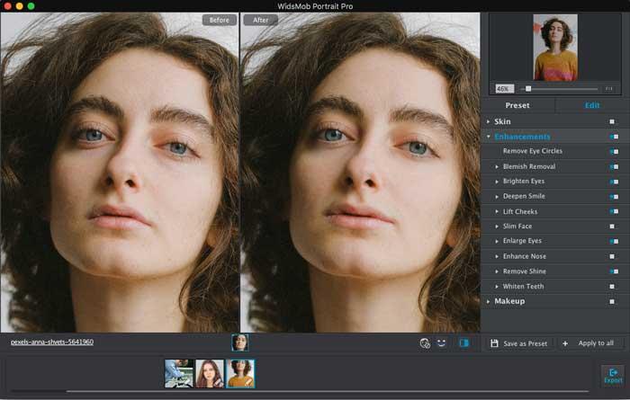 Portrait Headshot verbessern