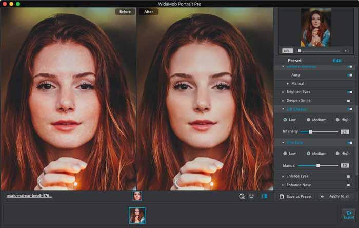 Portrait verbessern