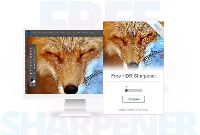 Gratis Photoshop-plugins - HDR Sharpener