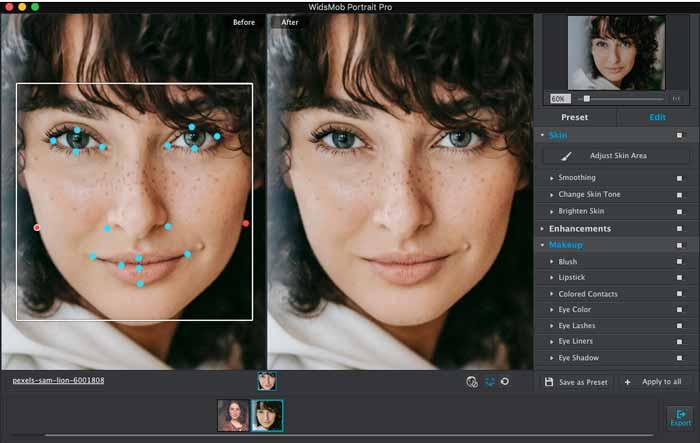 Importeer Portrait Ins Profile