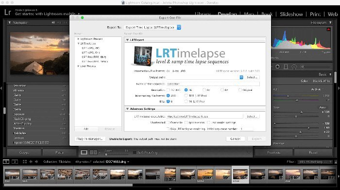 Δωρεάν Lightroom Plugins - LRTimelapse