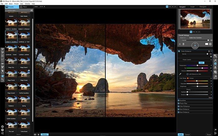 Gratis Photoshop-plugins - ON1-effekter