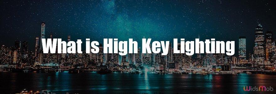 High Key Lighting