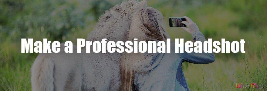 Make a Professional Headshot
