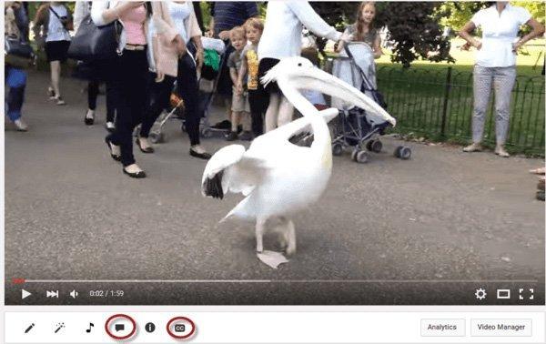 Trình chỉnh sửa văn bản của YouTube