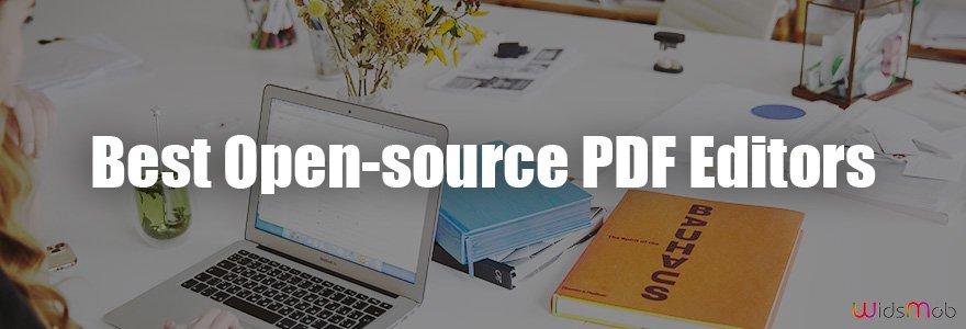 Meilleurs éditeurs PDF open source