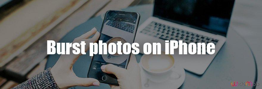 Burst Photos on iPhone
