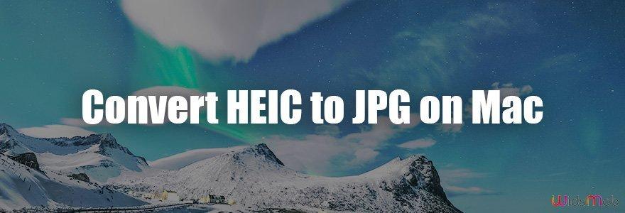 Convert HEIC to JPG on Mac