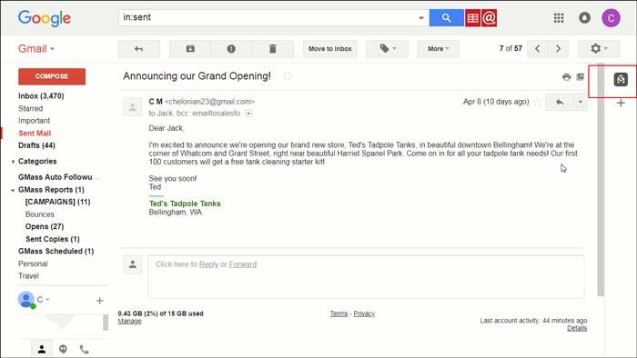 Gmail laste opp HEIC