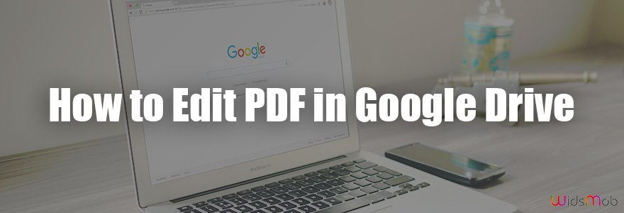 Sådan redigeres PDF i Google Drev