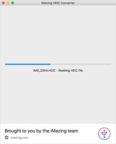 Increíble conversión de convertidor HEIC