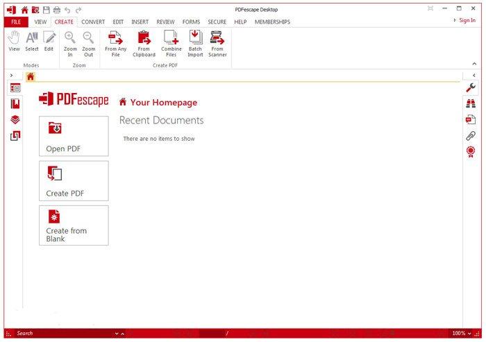 Gratis PDF Editor PDFescape
