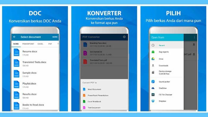 PDFとして印刷Android