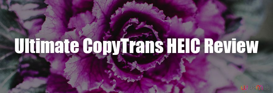 Ultimate CopyTrans HEIC Review