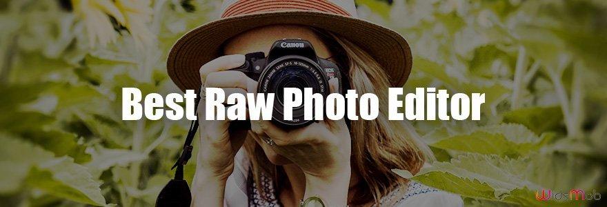 Meilleur éditeur de photos brutes