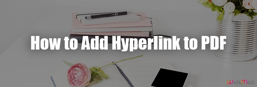 Comment ajouter un hyperlien au PDF