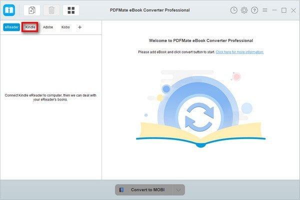 Convertisseur de livres électroniques PDFMate