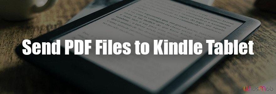 Send PDF -filer til Kindle Tablet