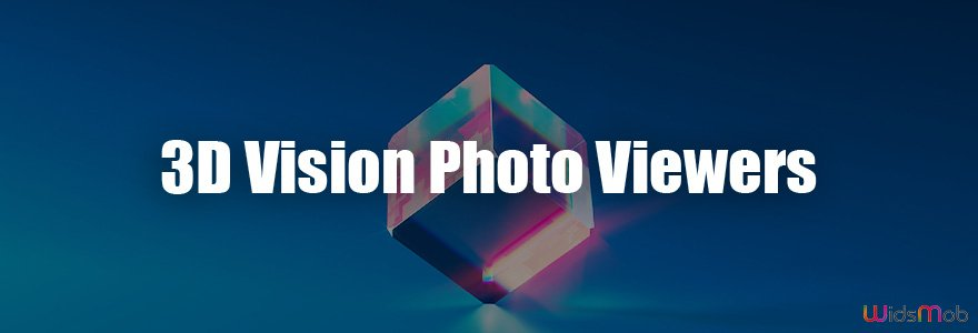 Visionneuses de photos 3D Vision