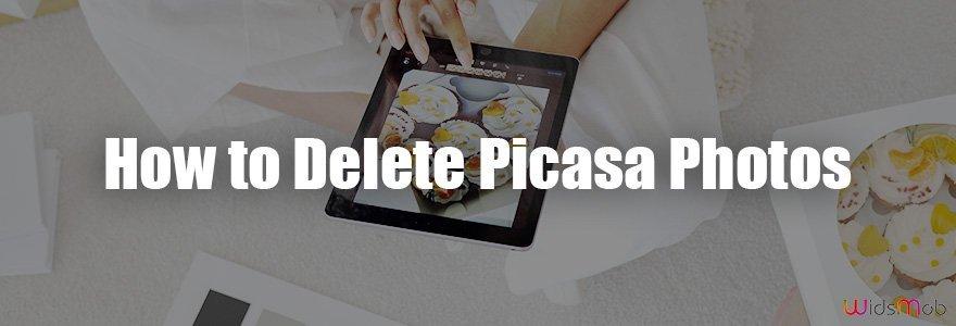 Comment supprimer des photos Picasa