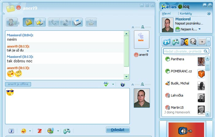 ICQ Chat Video Site