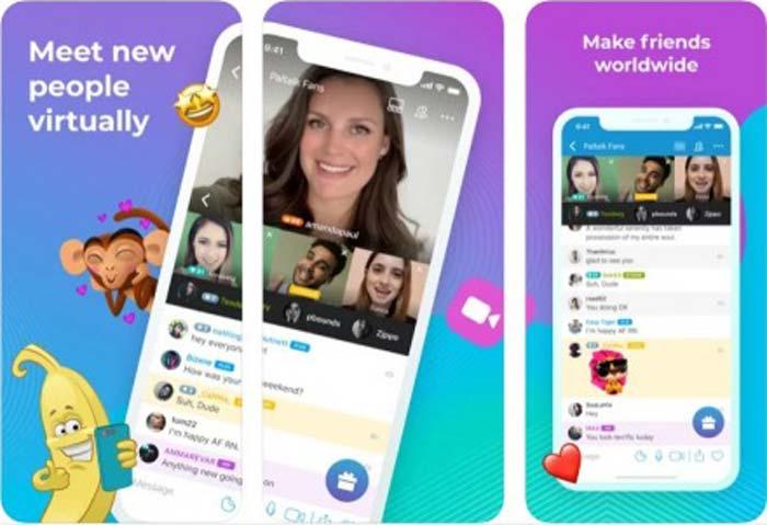 Chat vidéo Paltalk