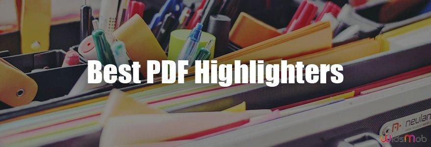 Bedste PDF Highlighters