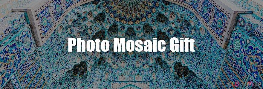 Affiche de mosaïque de photos