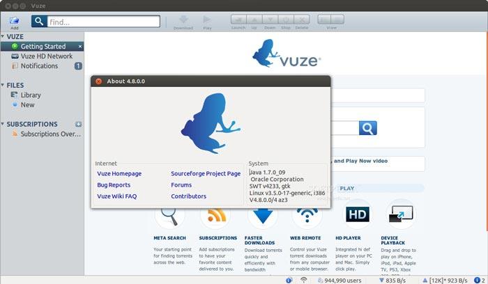 Last ned musikk fra Vuze