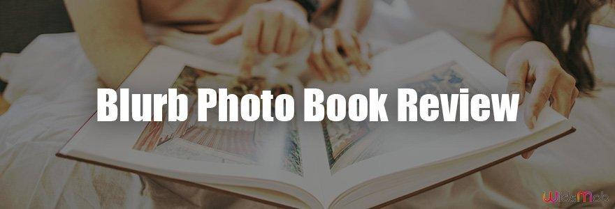 Critique du livre photo Blurb