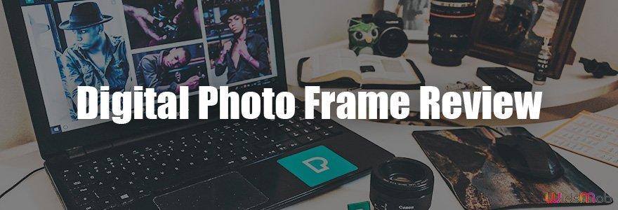 Examen du cadre photo numérique
